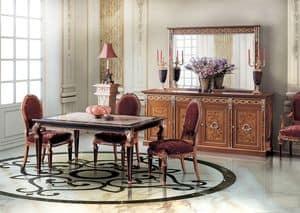 Paradise Diningroom, Rechteckiger Tisch für Esszimmer