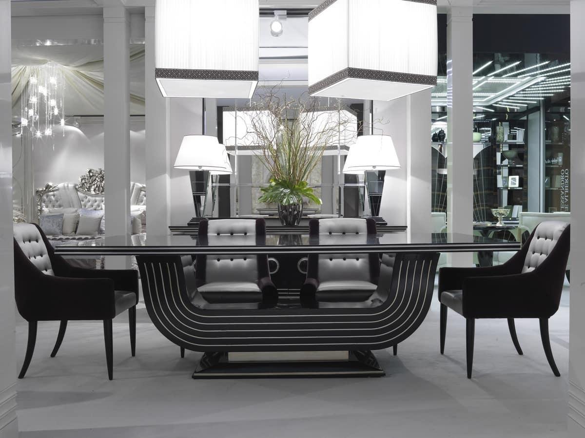 elegante esstisch f r luxuri se zimmer idfdesign. Black Bedroom Furniture Sets. Home Design Ideas