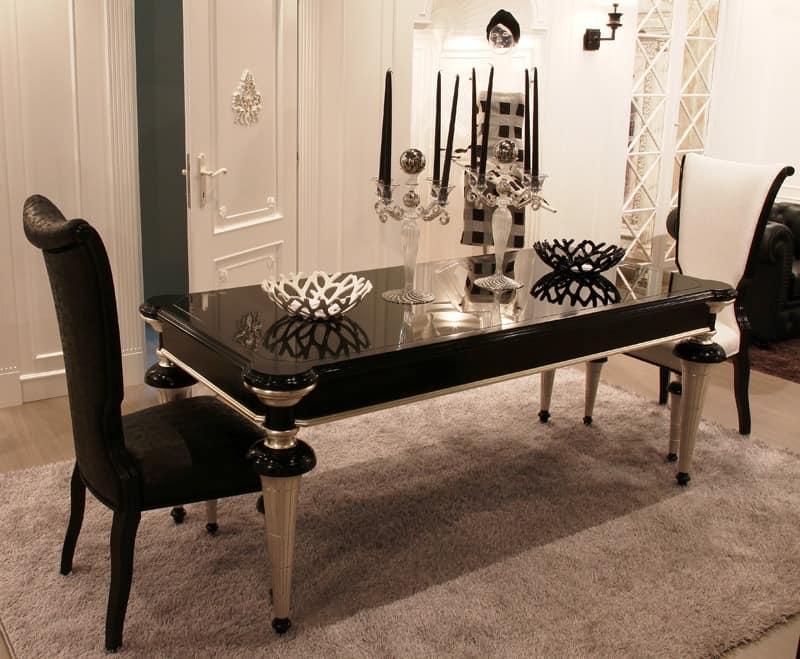 esstisch rechteckig zeitgen ssische klassische idfdesign. Black Bedroom Furniture Sets. Home Design Ideas