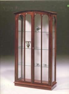 2230 SHOWCASE, Klassischer Luxus Vitrine für Wohnzimmer, mit 2 Türen