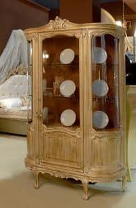 3485 SHOWCASE, Vitrine mit 2 Türen für das Esszimmer, im klassischen Stil