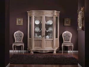 3640 VETRINA, Vitrine mit 2 Türen für die Gaststätten geeignet