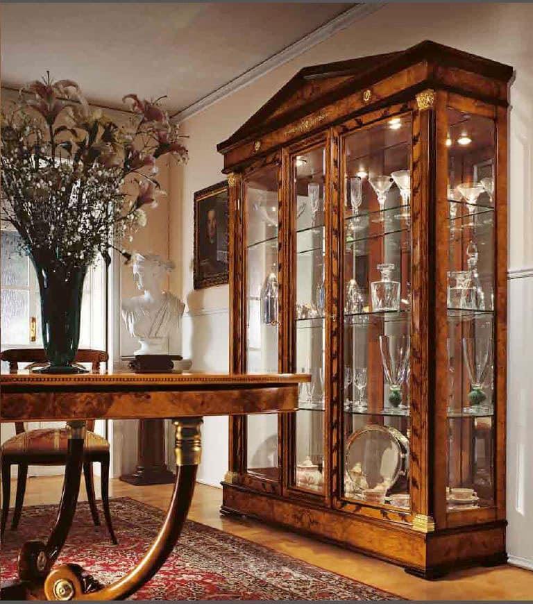 vitrine für esszimmer und wohnzimmer, im klassischen stil   idfdesign, Hause ideen