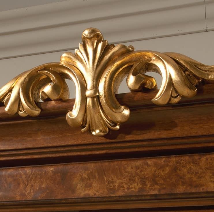 elegante vitrinen, klassischen italienischen design, für, Hause ideen