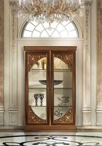 Hermitage MB/145, Vitrine mit 2 Türen, Klassischer Luxus-Stil