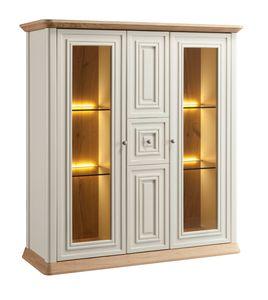 Romantica Schaufenster 7517, Klassische Vitrine mit Glastüren