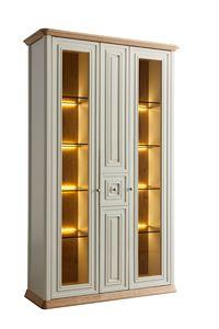 Romantica Schaufenster 7519, Klassische Vitrine mit integrierter Beleuchtung