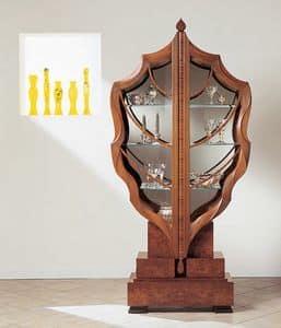 Bild von V498 La foglia, eleganter luxus vitrinen
