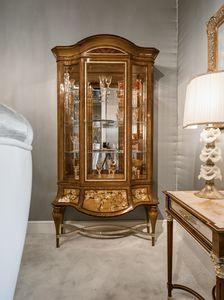 Schaukasten 1432, Luxus-Intarsienvitrine