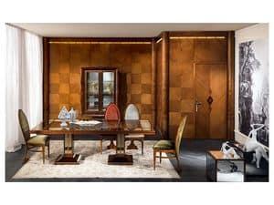BOIS02, Holzverkleidungen, klassischen Luxus, für Aufenthalte und Büros
