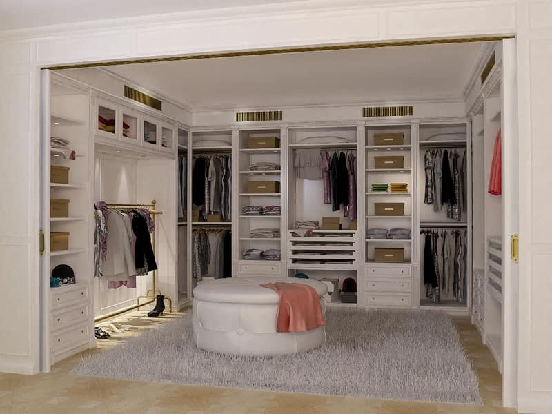 der begehbare kleiderschrank ein traum vieler frauen. Black Bedroom Furniture Sets. Home Design Ideas
