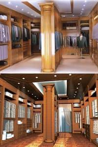Bild von Boiserie dressing room, luxus klassische holzarbeiten