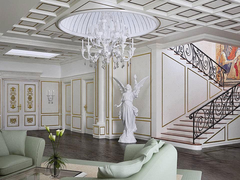 klassische designer mobel von turati boiseries, holzverkleidung für hallen, klassische verkleidung für zuhause, Design ideen