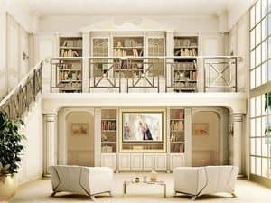 Bild von Boiserie Home Theatre Oxford, luxus klassische holzarbeiten