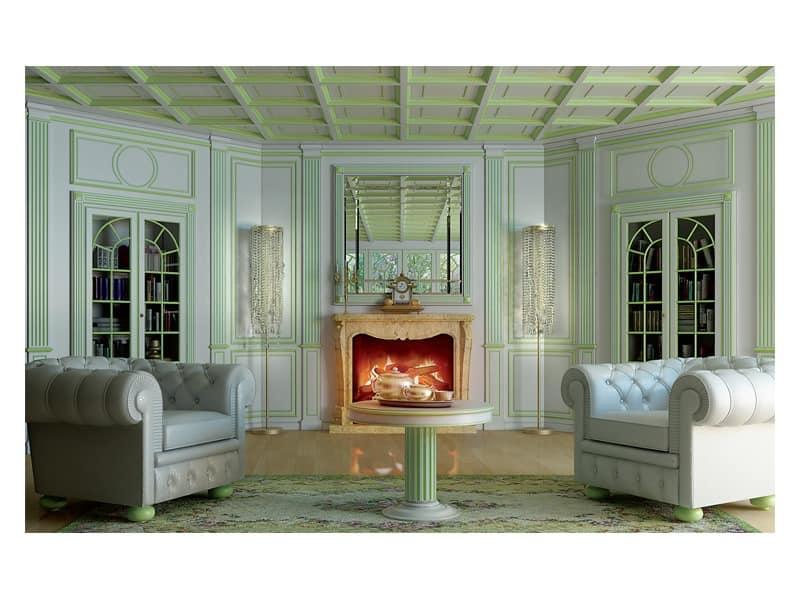 Boiserie Oxford 2, Luxus Klassischen Verkleidungen Wohnr�ume