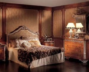 Boiserie Picasso, Platten aus Edelholz, für Schlafzimmer