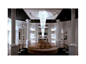 Bild von Boiserie hall, luxus klassischen verkleidungen