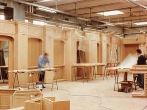 Bild von Boiserie work in progress 2, klassisches holzarbeiten