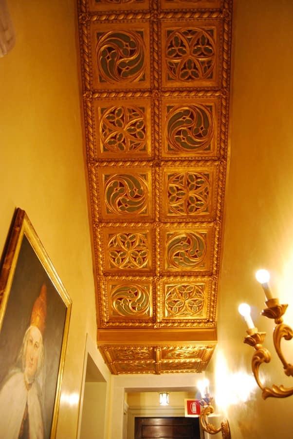 Dekorplatte / DECKEN ART. AC 0009, Goldene Dekorativen Platte, Im  Klassischen Stil
