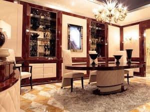 Bild von Dolce Vita Boiserie mit TV, luxus klassischen verkleidungen