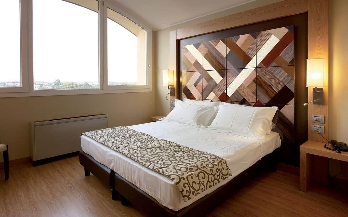Wandpaneele für Schlafzimmer, zugeschnitten | IDFdesign