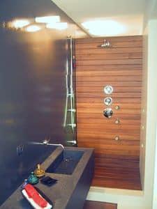 ZEN, Holzvertäfelung Bad, zugeschnitten