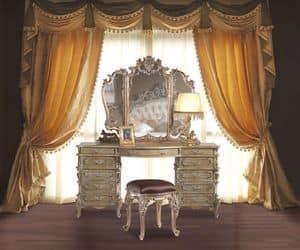 3605 FRISIERKOMMODE, Hand geschnitzt Frisiertisch für klassische Schlafzimmer geeignet