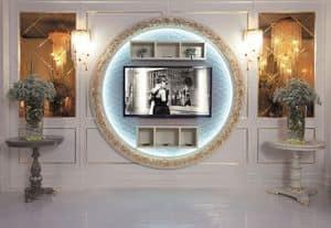 Art. 110, TV-Ständer, Wandmontage, Luxus im klassischen Stil