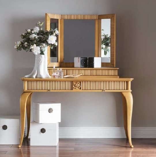 Kommode mit Spiegel, für klassischen Stil Schlafzimmer | IDFdesign