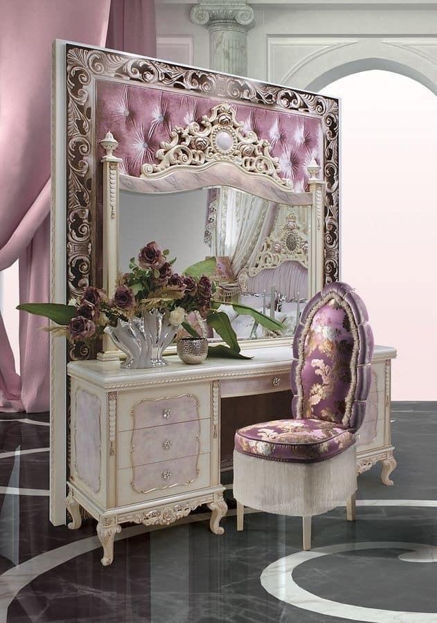 klassischer schminktisch f r klassische schlafzimmer. Black Bedroom Furniture Sets. Home Design Ideas
