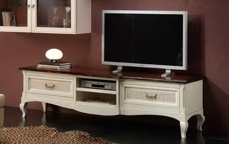 TV-Ständer mit Stroh Wien, der für klassische Wohnräume | IDFdesign