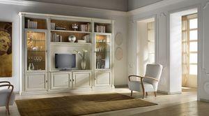 R 13, TV-Schrank, lackiert, klassisch, handgefertigt