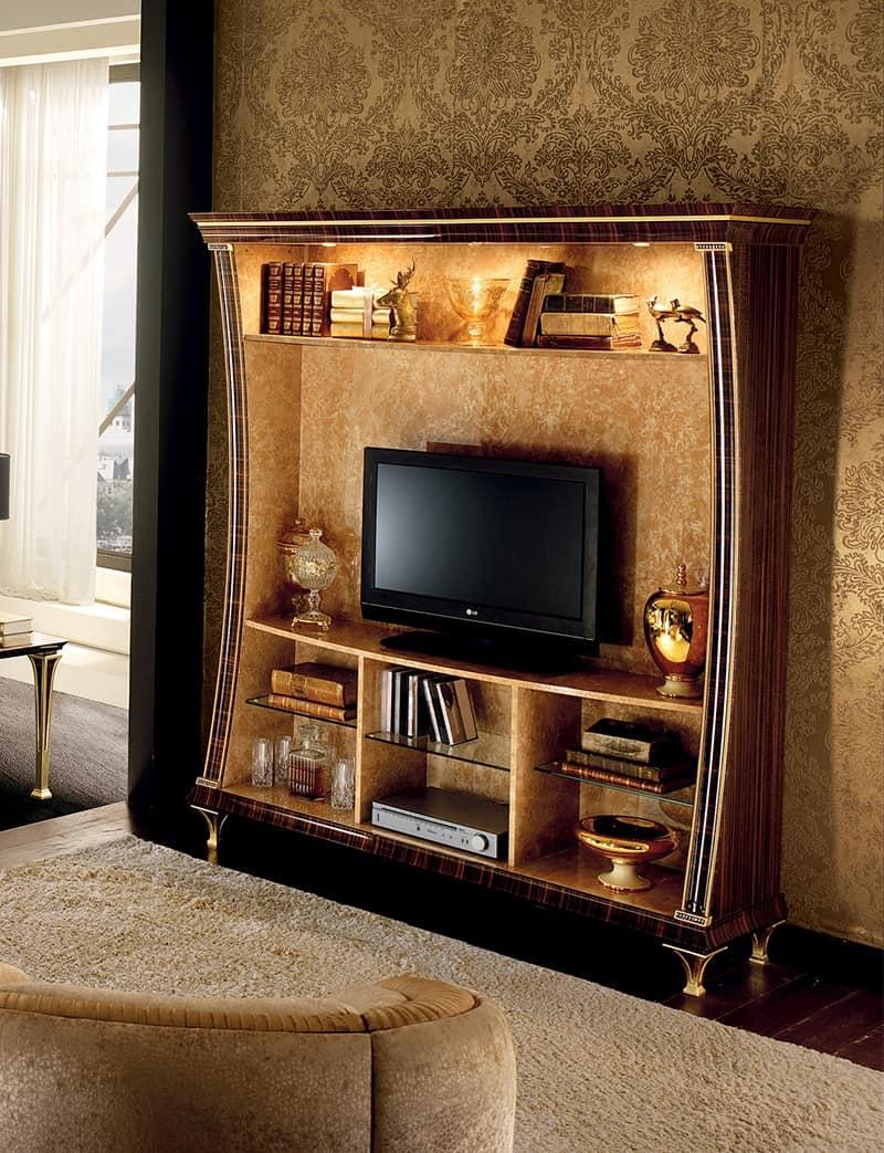 Tv Schrank Mit Bucherregal Funktionalitat Und Design Idfdesign