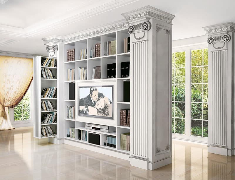 Tv st nder f r zeitgen ssische klassische wohnzimmer f r villen idfdesign - Klassische wohnzimmer ...