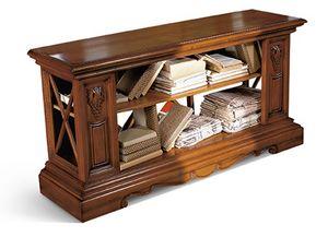 1484V2, Holztisch für die Rückseite des Sofas