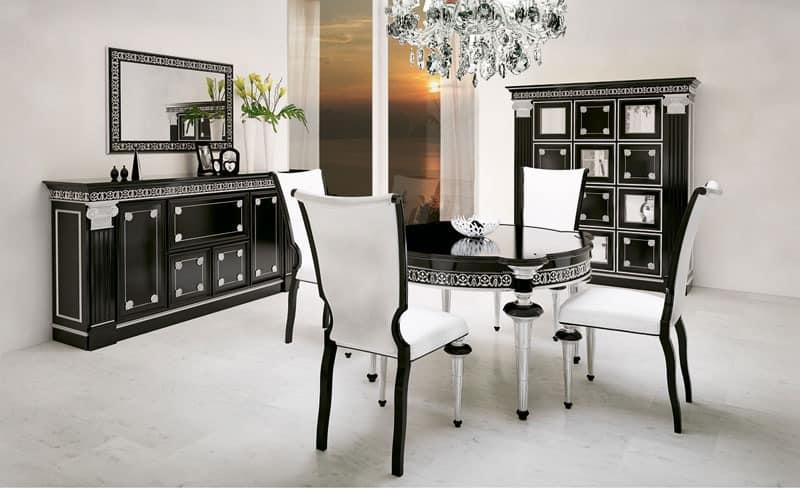 geschnitzte m bel im klassischen zeitgen ssischen stil f r restaurant idfdesign. Black Bedroom Furniture Sets. Home Design Ideas