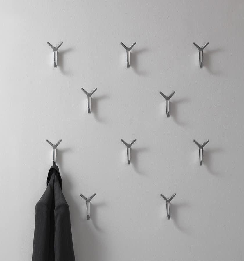 Battista Wand, Moderne Aluminium-Wand Aufhänger für das Büro