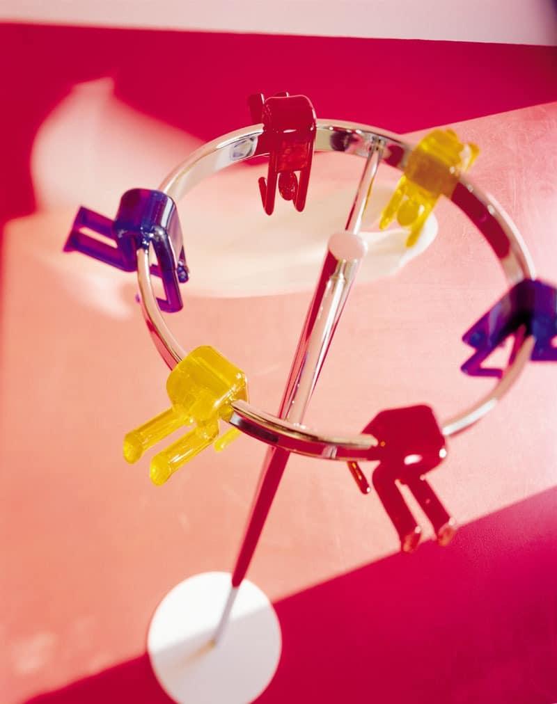 Gino rack, Garderobenständer, attraktives Design, in verschiedenen Farben erhältlich