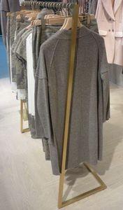 Kleiderstange aus Messing, Aufhänger für Bekleidungsgeschäft