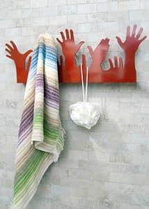 People, Moderne Metall Kleiderbügel, in der Form der Hände