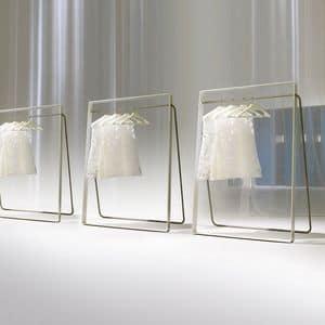 STENDER comp.02, Moderne Kleiderbügel für Schlafzimmer, Metallaufhänger für Hotel