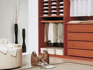Ausstattung Intern 06, Modulares Zubehör für begehbaren Kleiderschrank und Garderobe