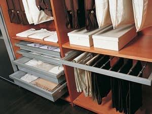 Ausstattung Intern 09, Kleiderschrank mit Zubehör, für die modernen Villen