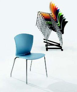 10525 Carina, Stapelbarer und aufsteckbarer Stuhl
