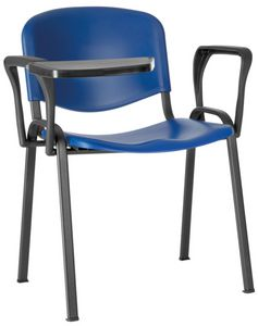 Conferenza polypropylen, Stuhl für große Halle, platzsparend, mit Polypropylen Sitz