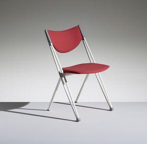 CONPASSO 1, Stapelbarer und transportabler Stuhl mit Trolley