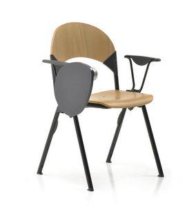 Creta 433, Stuhl aus Buchensperrholz