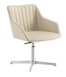 Dama Lounge, Wartestuhl mit breitem Sitz