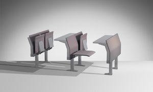 E4000, Integriertes System von Sitz und Tischen
