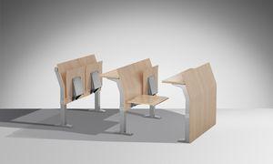 E5000, Zusammengesetztes System von Sitzen und Bänken für Universitäten